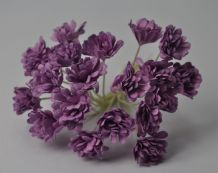 LILAC VIOLET GYPSOPHILA / FORGET ME NOT Mulberry Paper Flowers